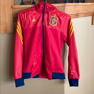 Adidas Spain Soccer Jacket